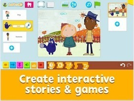 A New Interesting App to Help Kids Learn Coding Through Creating Games and Interactive Stories ~ Educational Technology and Mobile Learning | Technology Resources for K-12 Education | Scoop.it
