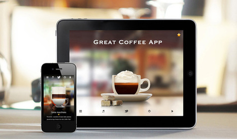 The Great Coffee App — Beautiful Pixels | Coffee Fanatic | Scoop.it