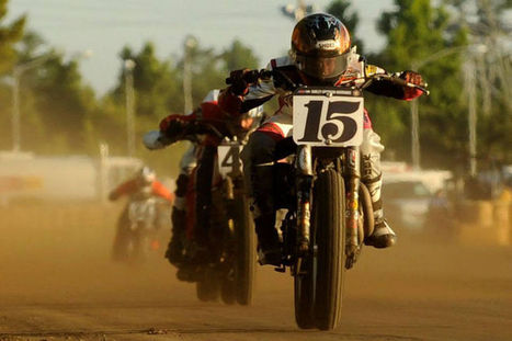 Michigan woman tears up Pro Flat Track - Black Hills Pioneer | California Flat Track Association (CFTA) | Scoop.it