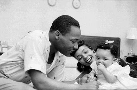 Rare Photos of Martin Luther King Jr. at Home - Photo Essays | Our Black History | Scoop.it