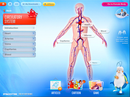 Apple & Educación » 5 apps para aprender anatomía humana | Todo Biología | Scoop.it