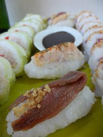 A mí me gusta comer: Sushi ibérico & Alhambra Reserva 1925 | RECETAS | Scoop.it
