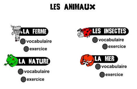 FLE en ESO: Travaillez le lexique des animaux | FLE: LANGUE-CULTURE ET CIVILISATION-DIDACTIQUE | Scoop.it