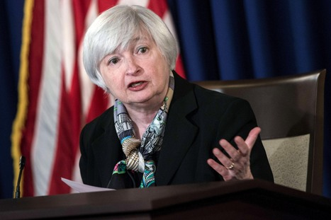 Yellen's message to press gets lost intranslation | Gold and What Moves it. | Scoop.it