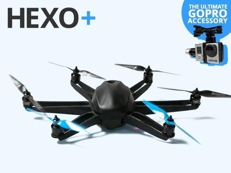 HEXO+: Your Autonomous Aerial Camera | Le sport à l'ère du connecté | Scoop.it