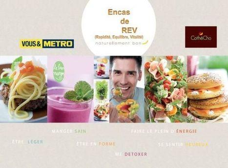 Metro lance un nouveau concept : Encas de REV | Food & consumer goods | Scoop.it