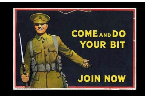 First World War posters | History Extra | Teachers Toolbox | Scoop.it