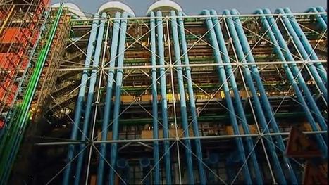 Architectures : le centre Georges Pompidou (extrait) - videos.arte.tv | cnac | Scoop.it