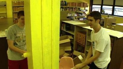 Positive Impact; Library Painting  - student council commits to beautification project   Impact of libraries   Scoop.it