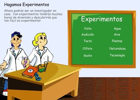 Experimentos para escuela primaria | educacion | Scoop.it