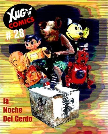 Xugcomics # 28, En el Medio De La noche continúan las aventuras de estos Fanzinerosos   Your Title   MulderComicReport   Scoop.it