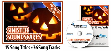 FREE Sinister Soundscapes Production Music Collection on DVD Royalty Free | Machinimania | Scoop.it