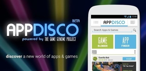 AppDisco (beta) - Applications Android sur Google Play | Android Apps | Scoop.it