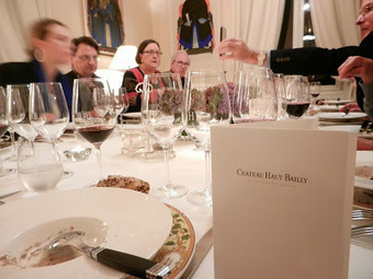 Wine Dinner at Château Haut-Bailly | Wine website, Wine magazine...What's Hot Today on Wine Blogs? | Scoop.it