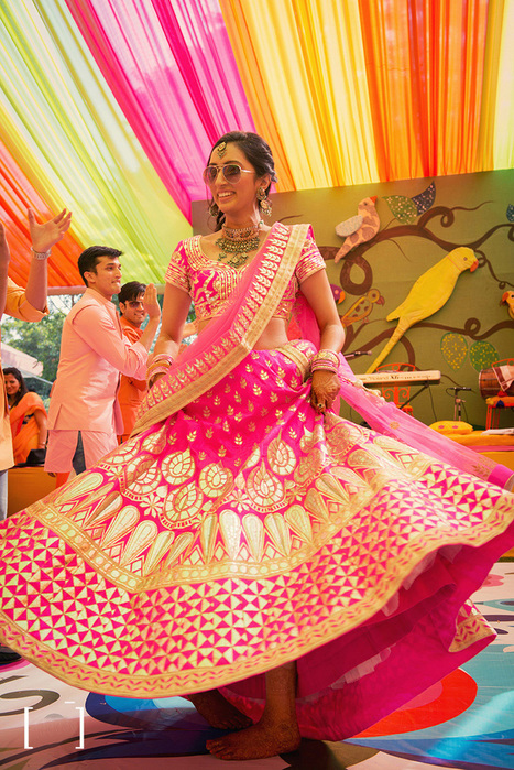 The New Wedding Lehenga Trends That You Need To Know About | I don't do fashion, I am fashion | Scoop.it
