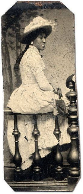 Black Victoriana dress and style rare images Part 2 | Black Fashion Designers | Scoop.it