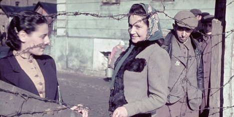 Stunning Color WWII Photos Give Rare Glimpse Into Nazi-Occupied Poland - Huffington Post | World at War | Scoop.it