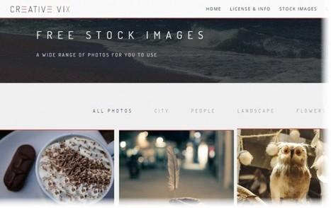 Creative Vix, cientos de imágenes de dominio público para nuestros proyectos | Educa-ción2.0 | Scoop.it
