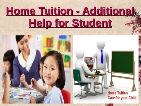 Top Quality Home Tutor | Education | Scoop.it