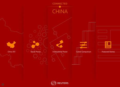 Connected China. Reuters | #Dataviz #corruption | e-Xploration | Scoop.it