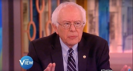 'The View' ask #Bernie #Sanders to say something nice about his #GOP rivals and he can't. Neither can we! | USA the second nazi empire | Scoop.it