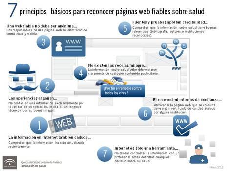 7 principios básicos para reconocer páginas web fiables sobre salud - Cuidando.org | Coaching para Médicos | Scoop.it