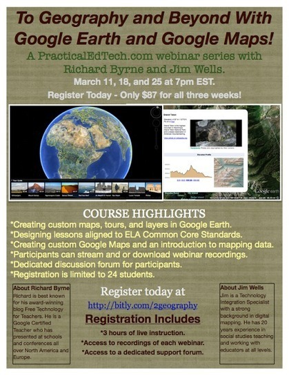 Free Technology for Teachers: To Geography and Beyond with Google Earth and Google Maps | Chris' Regional Geography | Scoop.it