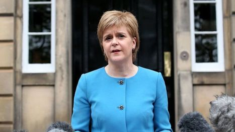 Sturgeon pledges to 'protect' Scottish EU interests - BBC News | Politics Scotland | Scoop.it
