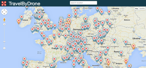 A Drone Map That Delivers You Anywhere In The World   TechCrunch   Big Data is a Big Deal!   Scoop.it
