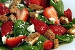 Spinach Strawberry Salad – Pinterest Food | Food & Recipes | Scoop.it