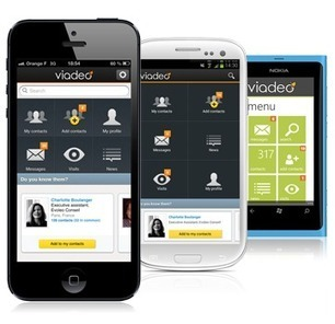 Viadeo va lancer une application pour mobile | e-learning & m-learning | Scoop.it