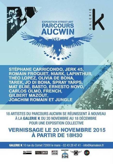 Exposition Le Parcours Aucwin à la Galerie K | Les créations de Tarek | Scoop.it