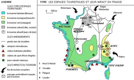Le tourisme en France: dynamiques et impact | Oekoumene.fr | Tourisme | Scoop.it