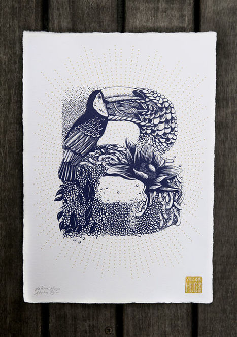 I Created A Complete Alphabet Inspired By Flora And Fauna | Street Art | Scoop.it