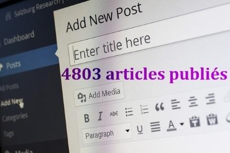 Comment afficher le nombre d'articles publiés sur WordPress ? | Philippe de outils-web | Scoop.it