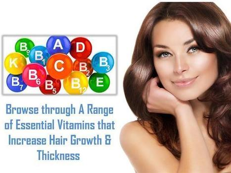 Vitamins that support hair growth   Hair Extensions London   Scoop.it