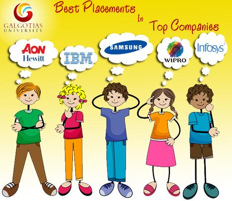Best Placement | Galgotias University | Scoop.it