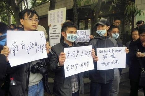 En Chine, rébellion de médias contre la censure - Les Inrocks   La presse écrite : un média en crise   Scoop.it