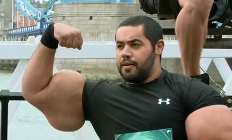 Moustafa Mo Ismail - Guinness World Records Largest Biceps - Synthol Challenge - Muscle and Fitness | Daily Crew | Scoop.it