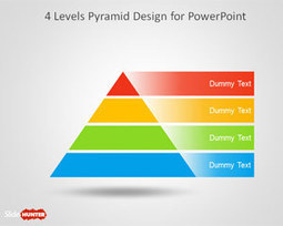 Free 4 Level Pyramid Template for PowerPoint | Free Business PowerPoint Templates | Scoop.it