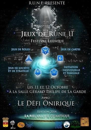 2 ème Edition du Festival JDR 2014 - Jeux de RUNE | Facebook | FRED PIXEL FAIT DU JEU  DE ROLE | Scoop.it