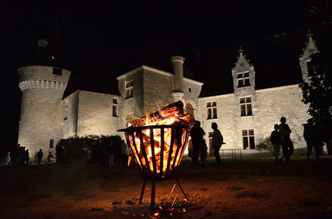 Bridoire by night ... | dordogne - perigord | Scoop.it