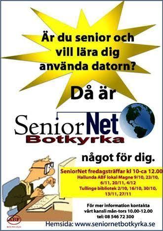 Fredagsträff 13 nov i Tullinge Bibliotek  |  SeniorNet Botkyrka | Seniornet Sweden | Scoop.it