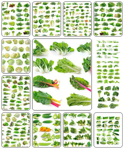 Vegetables collection isolated on white background - Stock Photo   Creative photography   Scoop.it