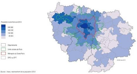 L'Ile-de-France frôle les 12 millions d'habitants | Love Paris | Scoop.it
