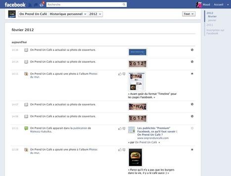 Timeline pour les fanpages Facebook, détails des changements | Actualité e-marketing | Scoop.it