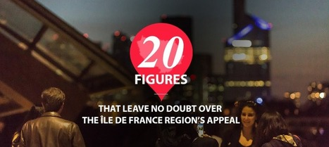 20 facts and figures that show just how much the Île de France region has to offer | Innorobo - Press | Scoop.it