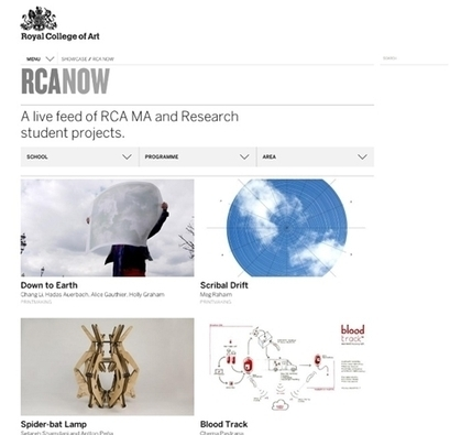 Neville Brody leads RCA website overhaul | News | Design Week | Digital marketing | Scoop.it
