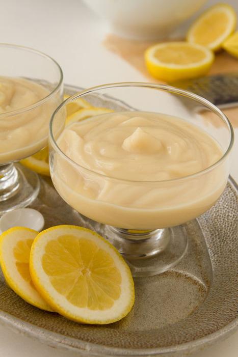 Vegan Lemon Pudding | Healthful Pursuit | Truly Healthy Recipes | Scoop.it