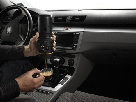 Handpresso Auto, A Hand-Held Espresso Machine for the Car | Gadgets I lust for | Scoop.it